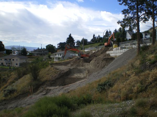Bare lot  Summerland Builder Okanagan 2009