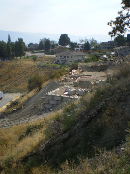 Lot on Bristow Rd Summerland  B Yargeau Contracting