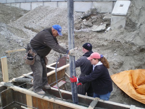 Concrete Pumping Summerland B Yargeau Contracting 2009