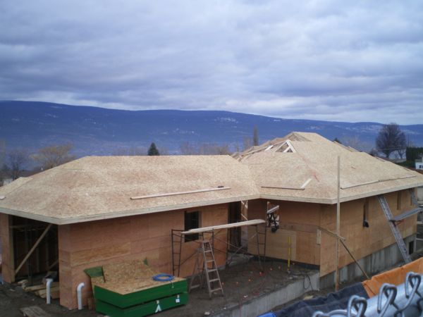 New Roof  Summerland B Yargeau Contracting 2009