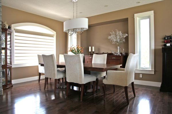 Dining Room  Wood Flooring B Yargeau Contracting