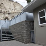 Allen Block Retaining Wall Lombardy Bay Summerland