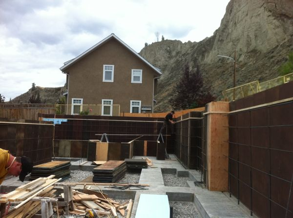Concrete Forming Canyonview Construction