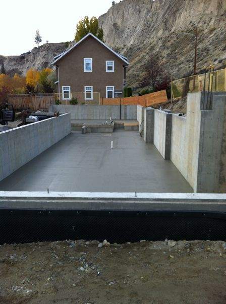 Concerete Slab Lakeshore Home Builder
