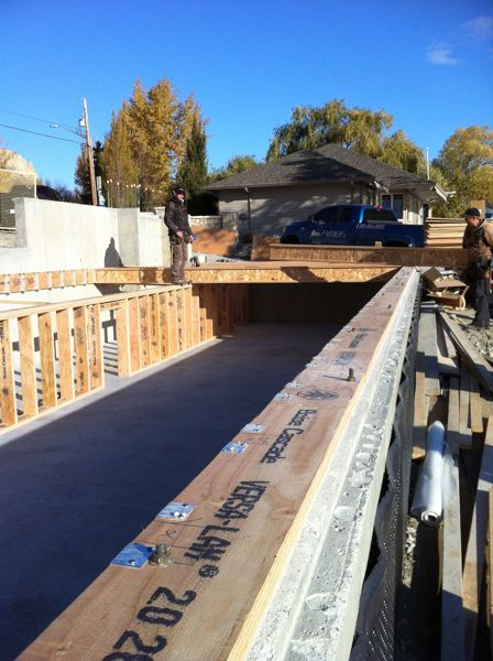 Floor Joist System Summerland Carpenters