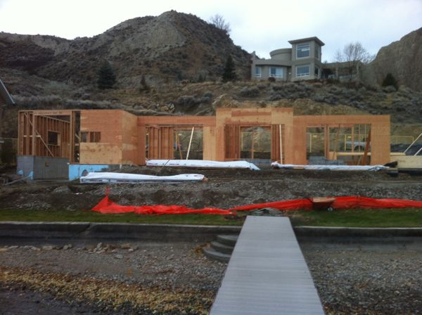 Framing Lakeshore Drive Summerland