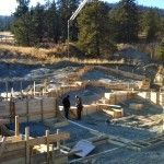Concrete Footings Fyffe Rd Summerland