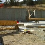 Concrete Foundation  Summerland B Yargeau contracting