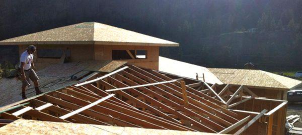 Roof  Fyffe Road  Canyonview Construction